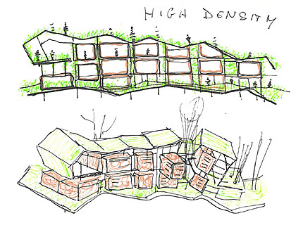 Sketches for the Letchworth Competition