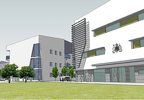 Proposed extension to the British Embassy Abu Dhabi